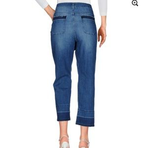 Michael Kors -Raw Hem Cropped Jeans